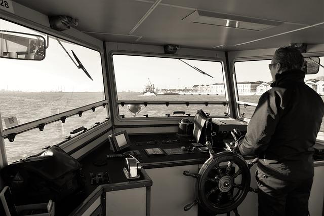 kapitán na lodi