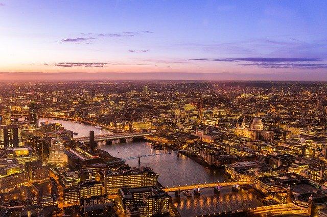 Noční Londýn
