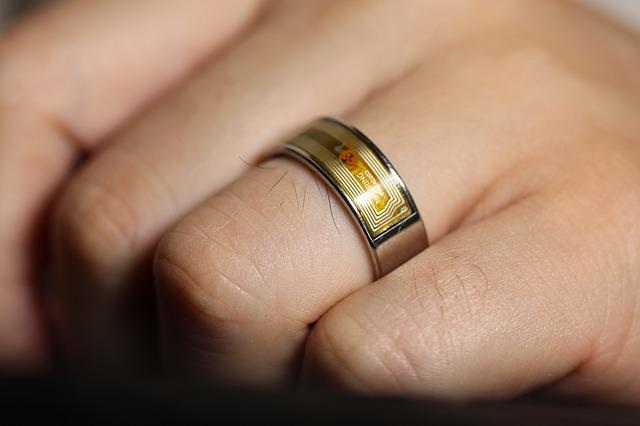Prsten na ruce