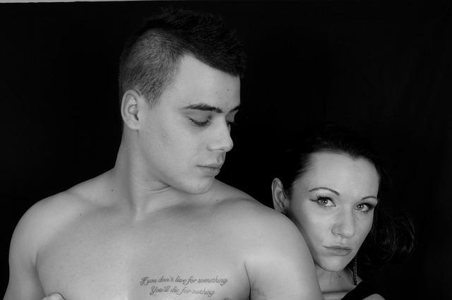 portrét muže a ženy