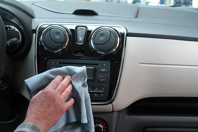 čištění auta