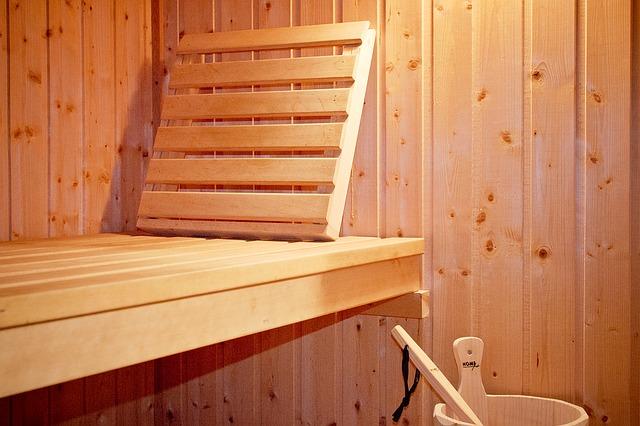 prostor sauny